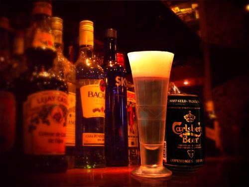 琥珀麦酒硝子器 ビアグラス