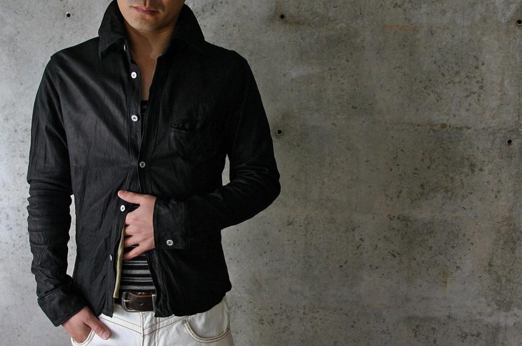 StellaDrago レザーシャツ 画像A