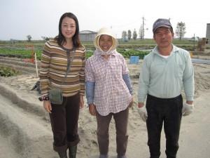 10.関原農園のご主人と奥様と。とても親切で明るいお二人でした。