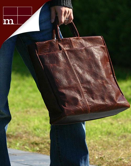 m+(エムピウ):レザーB4 バッグ なら、手数料すべて無料の男前製作所Morphoseで。あなたの男ヂカラUPさせます。