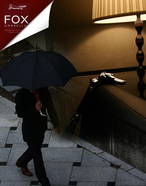 フォックスアンブレラズ(FOX umbrellas):レザーハンドル なら、手数料すべて無料の男前製作所Morphoseで。あなたの男ヂカラUPさせます。