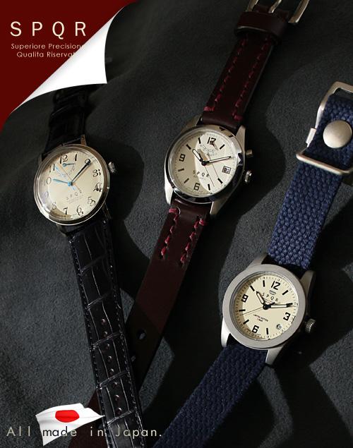 純国産機械式時計 SPQR(スポール) なら、手数料すべて無料の男前製作所Morphoseで。あなたの男ヂカラUPさせます。